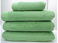 Полотенце махровое банное 85*150 микрокотон зеленое Maison D'or