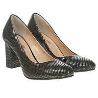 01345008a04b Туфли женские Angels (фактурная лаковая кожа, на удобном каблуке, модные,  классические)