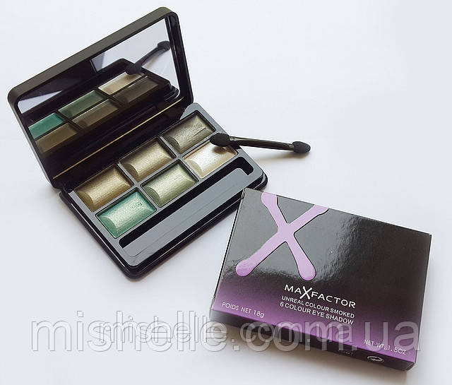 Тени для век MaxFactor Unreal Colour Smoked (Макс Фактор Анрил Колор Смокд)