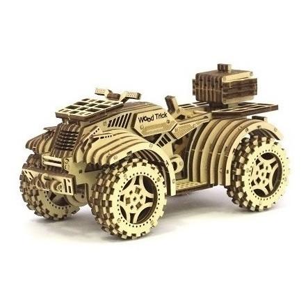 """Коллекционно-сувенирная модель """"Квадроцикл"""" Wood Trick"""