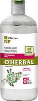 "O'Herbal Мицеллярный раствор для чувствительной кожи ""with thyme extract"" 250ml"