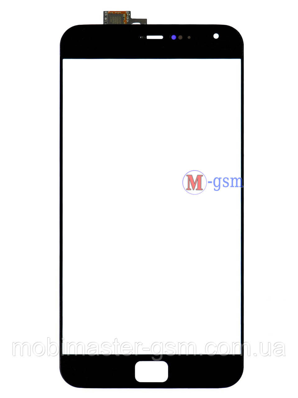 Сенсор (тачскрин) для телефона  Meizu MX4 Pro черный