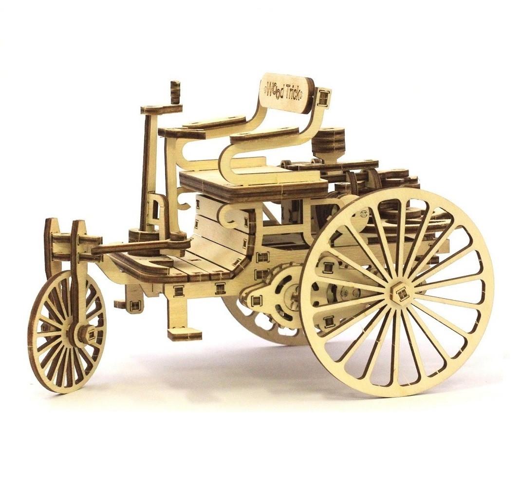 """Коллекционно-сувенирная модель """"Первый автомобиль"""" Wood Trick"""