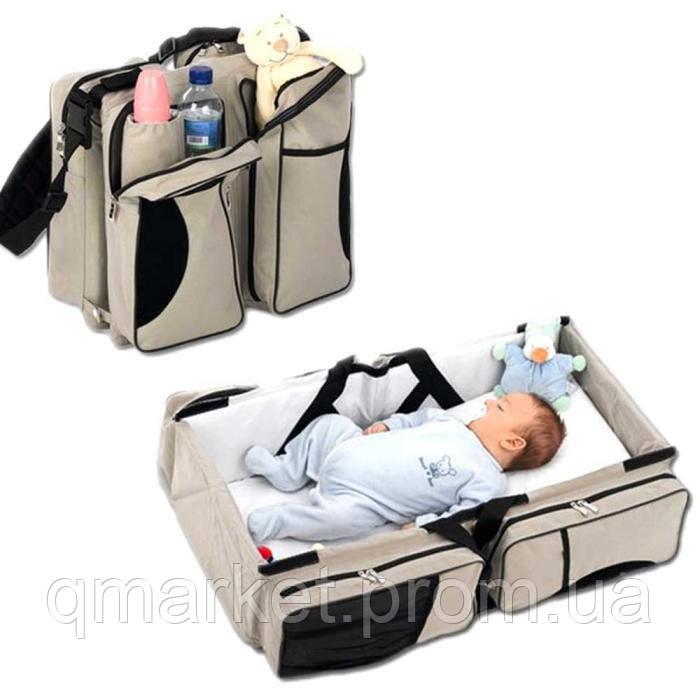 Многофункциональная переноска-кровать для малышей Ganen baby bed and bag  - Интернет-магазин «Qmarket» в Одессе