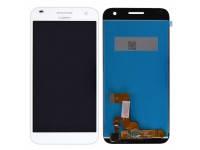 Дисплей Huawei Ascend G7 с тачскрином в сборе, цвет белый