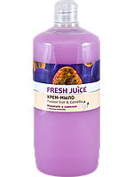 "Крем-мыло с маслом камелии ""Маракуйя и Камелия ""  ТМ "" Fresh juice"", 1000 мл."