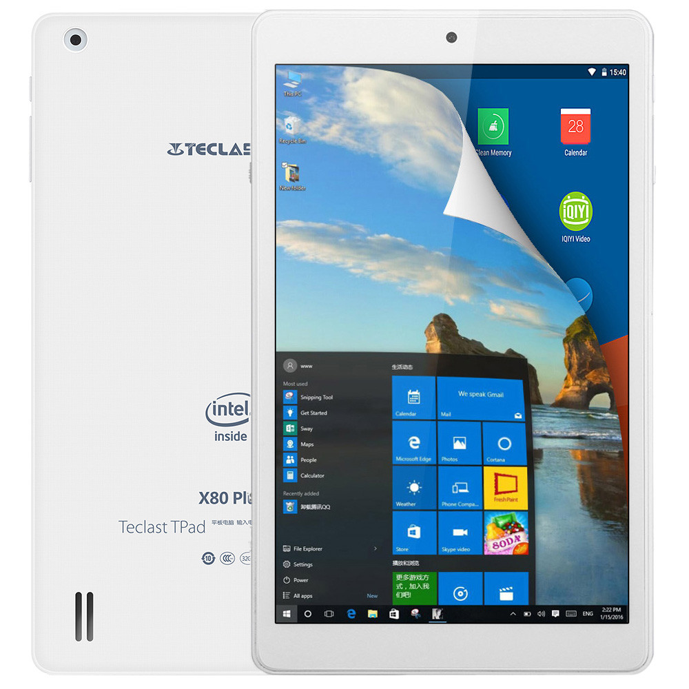 Планшет Teclast X80 Plus HDMI Windows 10 + Android