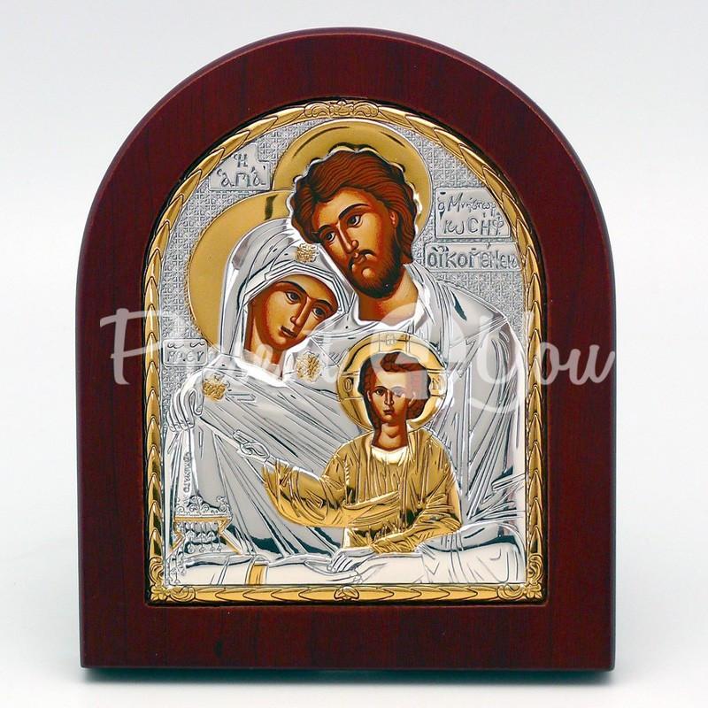Икона «Святая семья», 10,5х13 см.