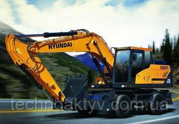 КОЛЕСНЫЕ ЭКСКАВАТОРЫ Колесные экскаваторы Hyundai были разработаны для обеспечения максимальной гибкости и высокой скорости движения.