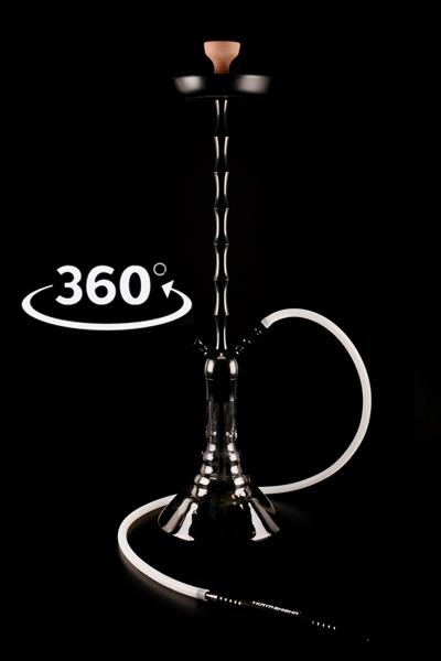 Кальян Kaya Black Spot ELOX 635CE XL Black 2S 360 Grad