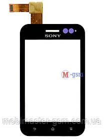 Сенсор (тачскрин) для телефона Sony Xperia Tipo ST21i black