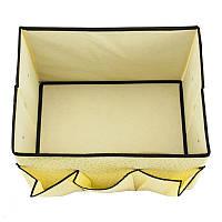 Органайзер для косметики тканевой (корзина, косметичка)