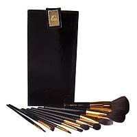 Профессиональный набор кистей для макияжа 9 шт - Bobbi Brown (реплика) ВВ-9 Черный - BB9