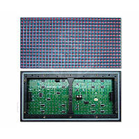 LED-модуль для рекламы P10-Red (320 × 160 мм, 32 × 16 точек, IP65, 2000 нт)