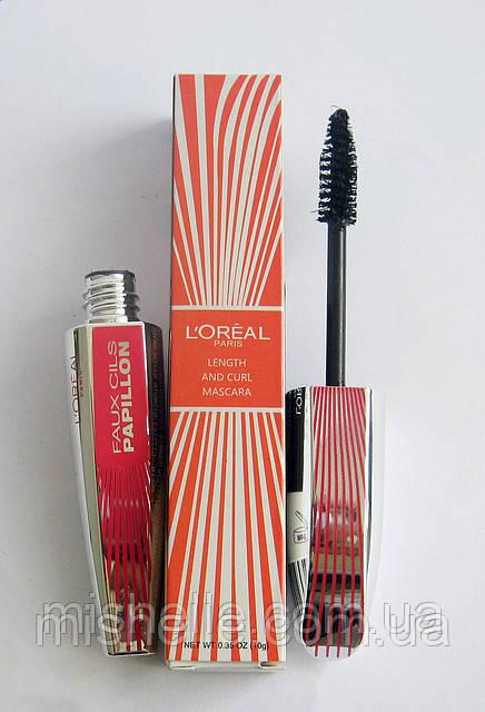Тушь для ресниц Loreal Length and Curl Mascara (Лореаль Ленс энд Курл Маскара)
