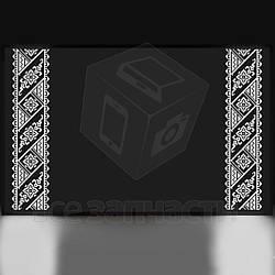 Зеркало Вышиванка №2 с LED подсветкой (800 × 500 × 30 мм, 20 Вт)