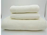 Рушник махровий банний 85*150 микрокотон крем Maison d'or, фото 1