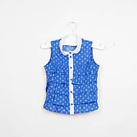 Блузка без рукавов для девочки