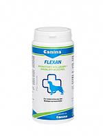 Кормовая добавка Canina Flexan для собак, укрепление костей и суставов, 150 г