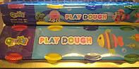 "Тесто для лепки 4цвета х60г, 2062 в баночках ""Play Dough"""