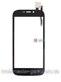 Тачскрин (сенсорный экран) для телефона Qumo QUEST 452 orig черный