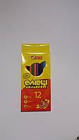 Цветные карандаши 12 цветов TIKI