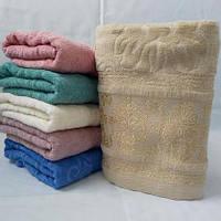 Полотенца махровые для лица недорого узор оптом