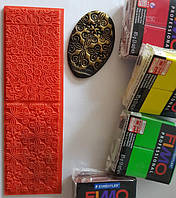 Текстурный коврик два в одном Fleur De Lise+Persian Флер де лиз+Персия