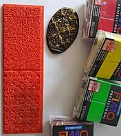 Текстурный коврик два в одном Fleur De Lise+Persian Флер де лиз+Персия, фото 1