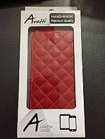 Чехол книжка флип Avatti HTC Desire 616 красный новый