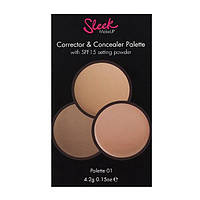 Палетка корректор и консилер - Sleek Makeup Correct And Conceal 01 # 96040669 - 96040669