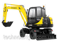 R55W-7A  · Двигатель YANMAR 4TNV98-EPHYB · Ковш 0,18 (0,24) (㎥ (ярда3)) · Рабочий вес 5450 (12020) (кг (фунт)) · Эталонная модель R55W-7A