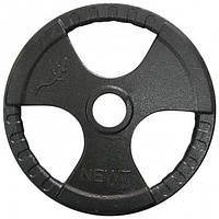 Блин для штанги с хватами на 20 кг (D 52 мм)