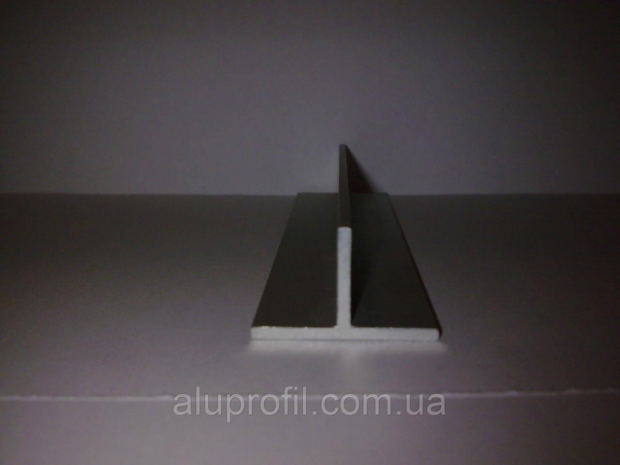 Алюминиевый профиль — тавр алюминиевый 24х14,7х1,7, фото 1