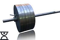 Штанга для фитнеса домашняя стальная RN100 кг