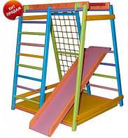 Детский спортивно-игровой комплекс цветной «Малыш-Веселый Дракоша»