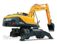 R210W-9S  · Двигатель HYUNDAI ENGINE / HM5.9 · Ковш 0,80 (1,05) (㎥ (ярда3)) · Рабочий вес 20500 (45190) (кг (фунт)) · Эталонная модель R210W-9S