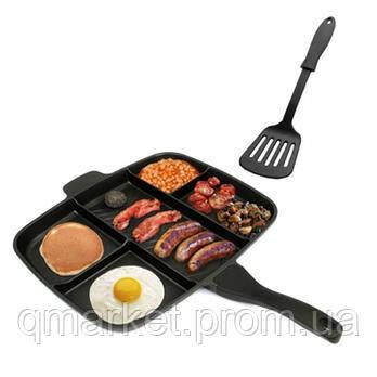 Сковородка универсальная Magic Pan Innovative Cookware Panci 5 іn 1 - Интернет-магазин «Qmarket» в Одессе