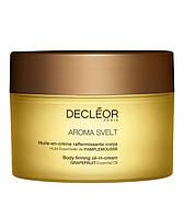 Укрепляющий масло - крем, 200 мл/Decleor Huile - Creme Aroma Svelt