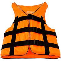 Жилет страховочный Bark оранжевый (70-90 кг.), art: BK-115