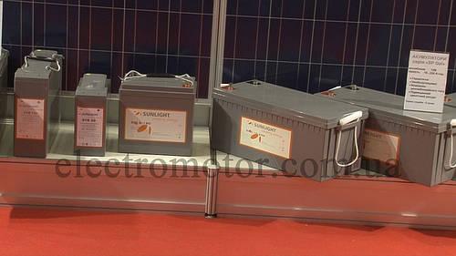 Аккумулятор Sunlight sp 12-2C
