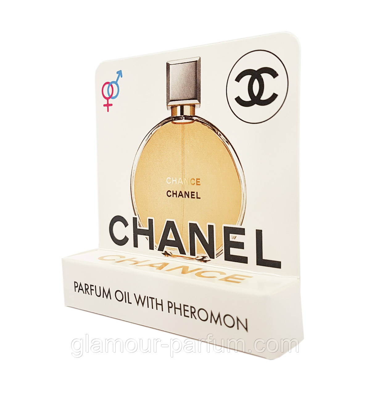 купить мини парфюм с феромонами Chanel Chance Parfum шанель шанс