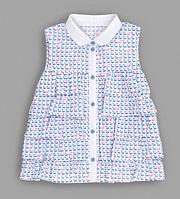 Блузка из вуали для девочки р.104
