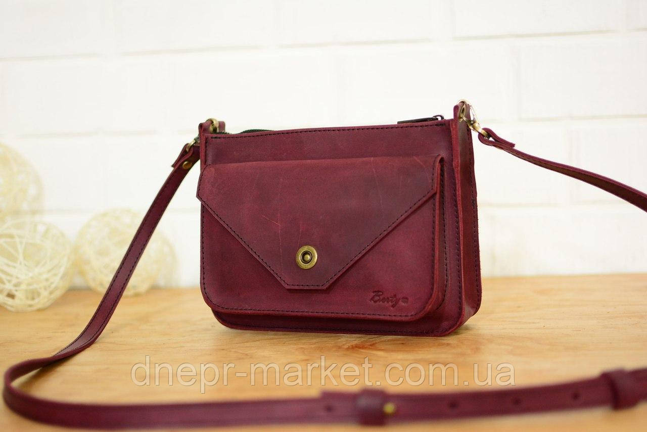 Женская маленькая сумка из натуральной кожи - Интернет-магазин выгодных цен