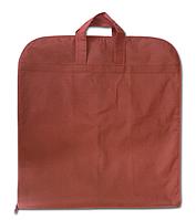 Чехол/кофр для одежды с ручками 60х130 см, винный