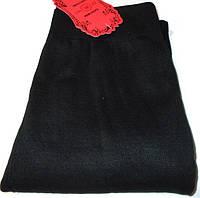 Лосины джинсовые черные бесшовные №1