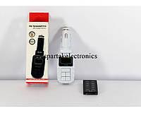 Трансмитер FM MOD. KD-210, FM-модулятор с зарядкой  для телефона от прикуривателя и от сети