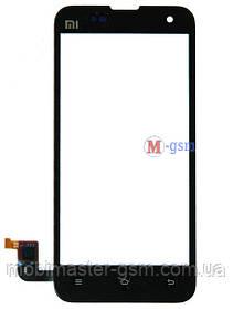 Сенсор (тачскрин) для телефона Xiaomi Mi2, Mi2s черный