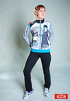 Спортивный костюм женский Billcee Турция трикотаж