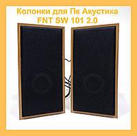 Колонки для Пк Акустика FNT SW-101 2.0!Акция